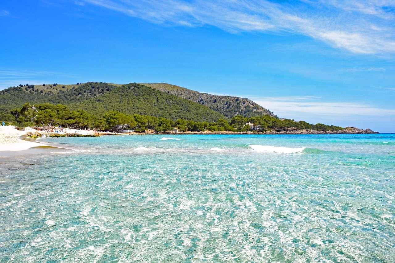 Mallorca Cala Agulla Meer