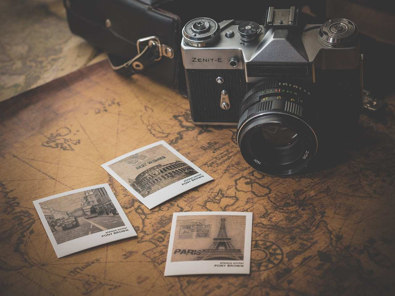 alte Foto-Kamera