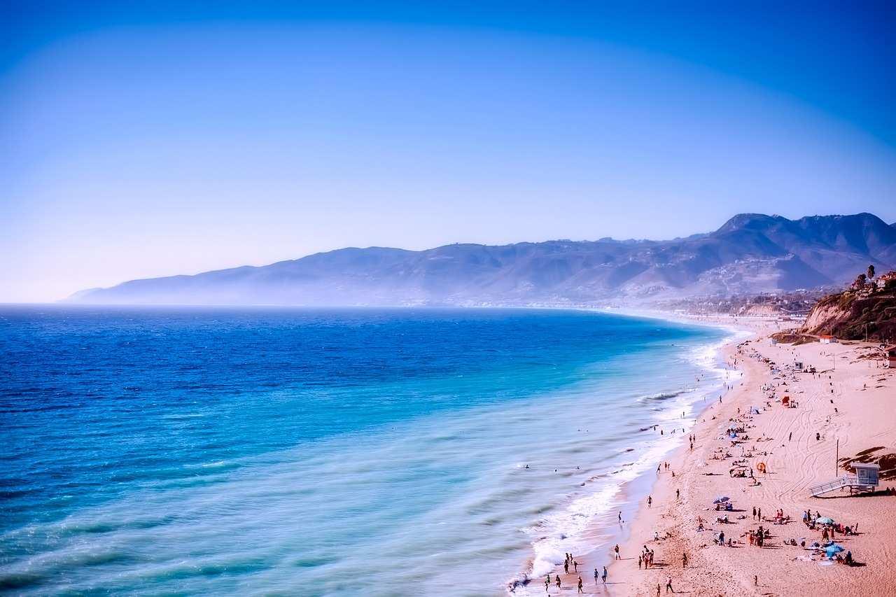 Malibu Beach, Kalifornien